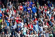 ALKMAAR - 01-05-2016, AZ - de Graafschap, AFAS Stadion, 4-1, supporters