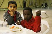 Bari 12 01 2010 foto di Donato Fasano : CARA (Centro accoglienza richiedenti asilo) i trasferiti di Rosarno