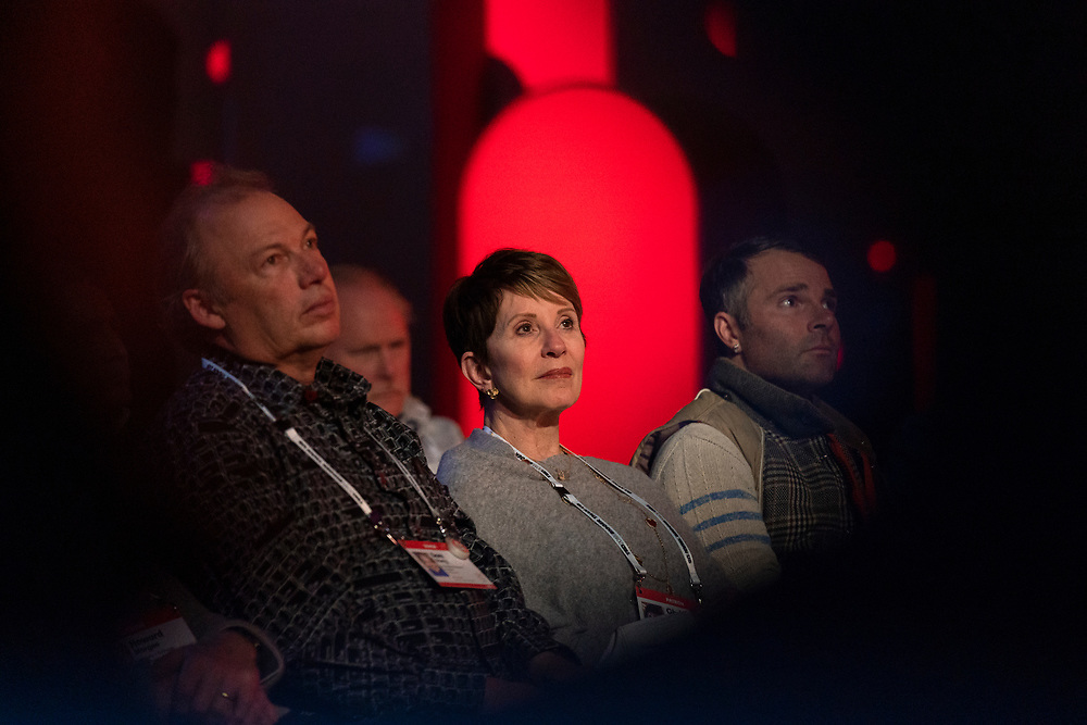 Audience members at TED2019: Bigger Than Us. April 15 - 19, 2019, Vancouver, BC, Canada. Photo: Bret Hartman / TED