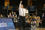 March 5, 2018 - Asheville, North Carolina - U.S. Cellular Center: ETSU head coach Steve Forbes<br /> <br /> Image Credit: Dakota Hamilton/ETSU