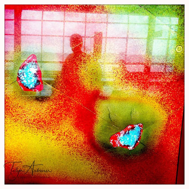 Hobby airport glass - Houston, Texas