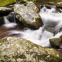 Roaring Fork water cascade, Great Smoky Mountain National Park, TN