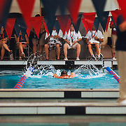 The event took place at Schroeder YMCA pool, in Milwaukee, WI, on June 20, 2007.  Photo by Melody Carranza.
