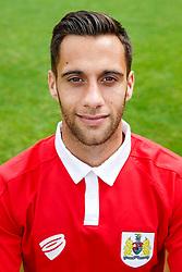 Sam Baldock poses for a head shot - Photo mandatory by-line: Rogan Thomson/JMP - 07966 386802 - 04/08/2014 - SPORT - FOOTBALL - BCFC Training Ground, Failand - Bristol City, 2014/15 Team Photos.
