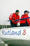 Rutland 8 Sailing Yachts on rutland Water