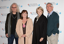 © Licensed to London News Pictures. 15/10/2012. London, U.K..(L-R) Billy Connolly, Pauline Collins, Maggie Smith and Tom Courtney  at a Photocall today (15/10/2012) at the Empire theatre FOR THE BFI London film festival, Leicester Square for the film 'Quartet' directed by Dustin Hoffman and starring Billy Connolly, Pauline Collins, Tom Courtney, Sheridan Smith and Maggie Smith..Photo credit : Rich Bowen/LNP