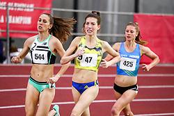 womens One Mile, BAA, adidas, Dana Giordano<br /> Boston University Scarlet and White<br /> Indoor Track & Field, Bruce LeHane , adidas, BAA,