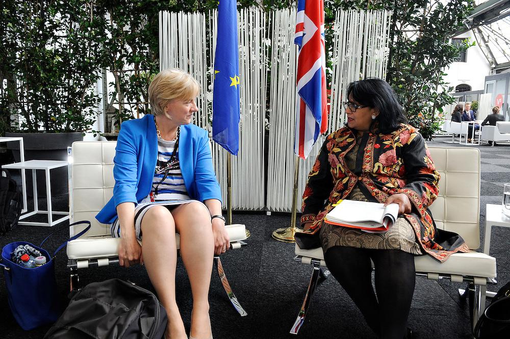 20150603- Brussels - Belgium - 03 June2015 - European Development Days - EDD  - Baroness Verma UK and Linda McAvan EP  © EU/UE