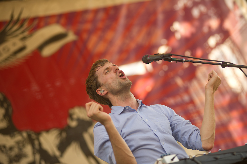 Cut Copy plays the West Stage.