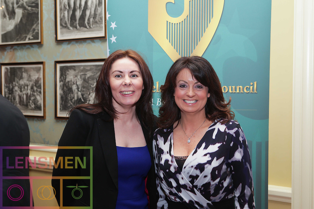 Pictured at (l-r) at The Ireland-U.S. Council was Nicola Byrne and Pauline Keogh. Picture Lensmen.