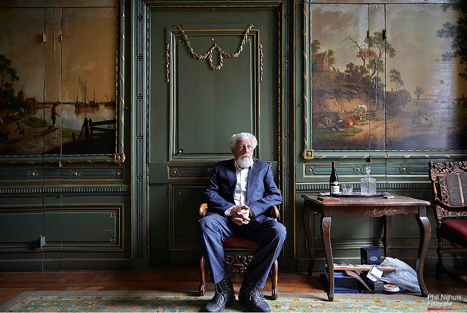 Den Haag, 11 september 2013 -  Willem S Meijer, grootmeester van de Nederlandse orde van Vrijmetselaren in Den Haag.<br /> Foto: Phil Nijhuis