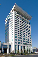 Hotel near the Olympic park, Beijing.