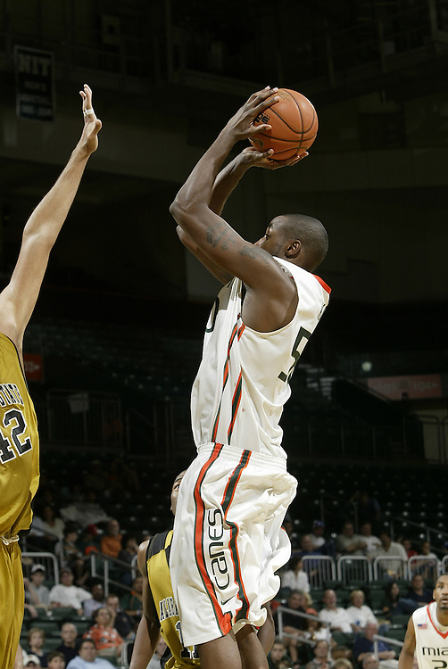 2008 University of Miami Men's Basketball vs Alabama State