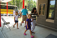 Mill Brook Elementary School grand opening August 26, 2012.