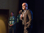 November 14, 2013: Prodigal LLC holds an event to announce that the USL Pro soccer team to begin play for the 2014 season will be named the Oklahoma City Energy FC.  The Energy will play at Bishop McGuinness High School.