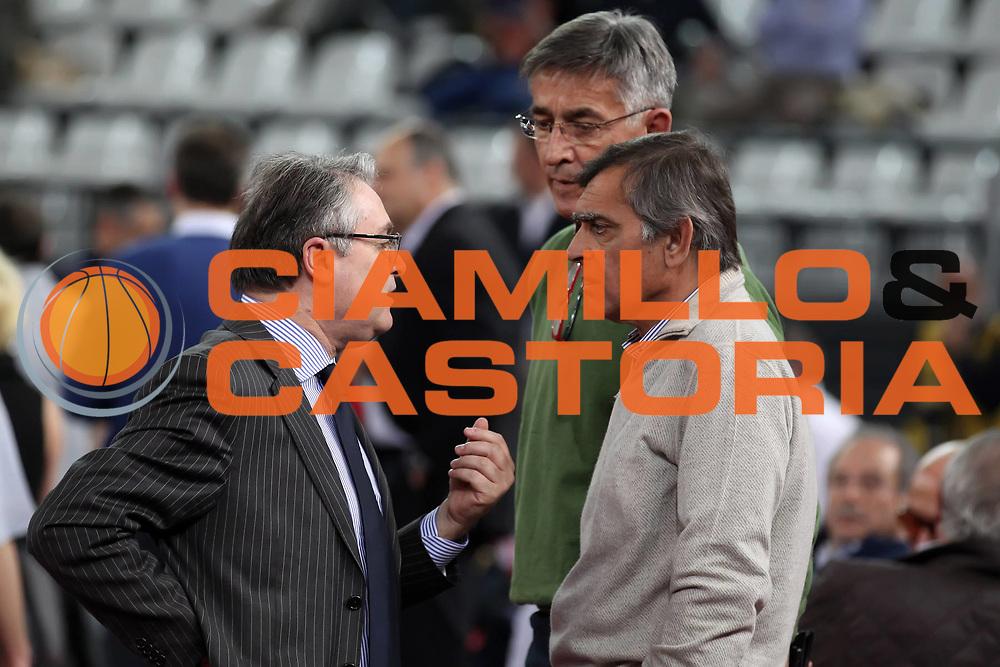 DESCRIZIONE : Roma Lega A 2010-11 Lottomatica Virtus Roma Banca Tercas Teramo<br /> GIOCATORE : Valentino Renzi Claudio Toti Bogdan Tanjevic<br /> SQUADRA : Lottomatica Virtus Roma Lega Basket<br /> EVENTO : Campionato Lega A 2010-2011 <br /> GARA : Lottomatica Virtus Roma Banca Tercas Teramo<br /> DATA : 03/04/2011<br /> CATEGORIA : ritratto presidente<br /> SPORT : Pallacanestro <br /> AUTORE : Agenzia Ciamillo-Castoria/ElioCastoria<br /> Galleria : Lega Basket A 2010-2011 <br /> Fotonotizia : Roma Lega A 2010-11 Lottomatica Virtus Roma Banca Tercas Teramo<br /> Predefinita :