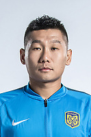 **EXCLUSIVE**Portrait of Chinese soccer player Liu Jianye of Jiangsu Suning F.C. for the 2018 Chinese Football Association Super League, in Nanjing city, east China's Jiangsu province, 23 February 2018.