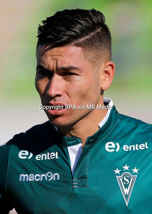 Chile Football League First Division - <br /> Scotiabank Tournament 2016 - <br /> ( Club de Deportes Santiago Wanderers ) - <br /> Oscar Mauricio Opazo Lara