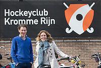 BUNNIK - HOCKEY - Hockeyclub Kromme Rijn, een jonge club. Voorzitter Ton van Hekeren en Marieke van de Meer (communicatie) COPYRIGHT KOEN SUYK