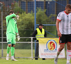 25.07.2015, Joiner Arena, Irdning, AUT, Testspiel, FC Fulham vs Eintracht Frankfurt, im Bild Andy Lonergan (FC Fulham, #24) // during a international friendly football match between FC Fulham and Eintracht Frankfurt at the Joiner Arena, Irdning, Austria on 2015/07/25. EXPA Pictures © 2015, PhotoCredit: EXPA/ Martin Huber