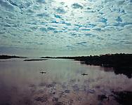 Peconic River, Riverhead, New York,  kayak fishing,