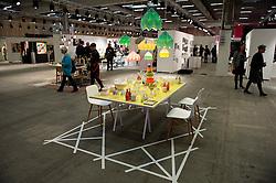 Herning, Denmark, 20130202: .MCH Messe: UP Interiør og design messe. Åbning og rundgang.Photo: Lars Moeller