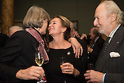 CAROLINE MICHEL; ED VICTOR, Everyman 25th Anniversary party, Spencer House. St. James' Place. London. SW1. 26 October 2016