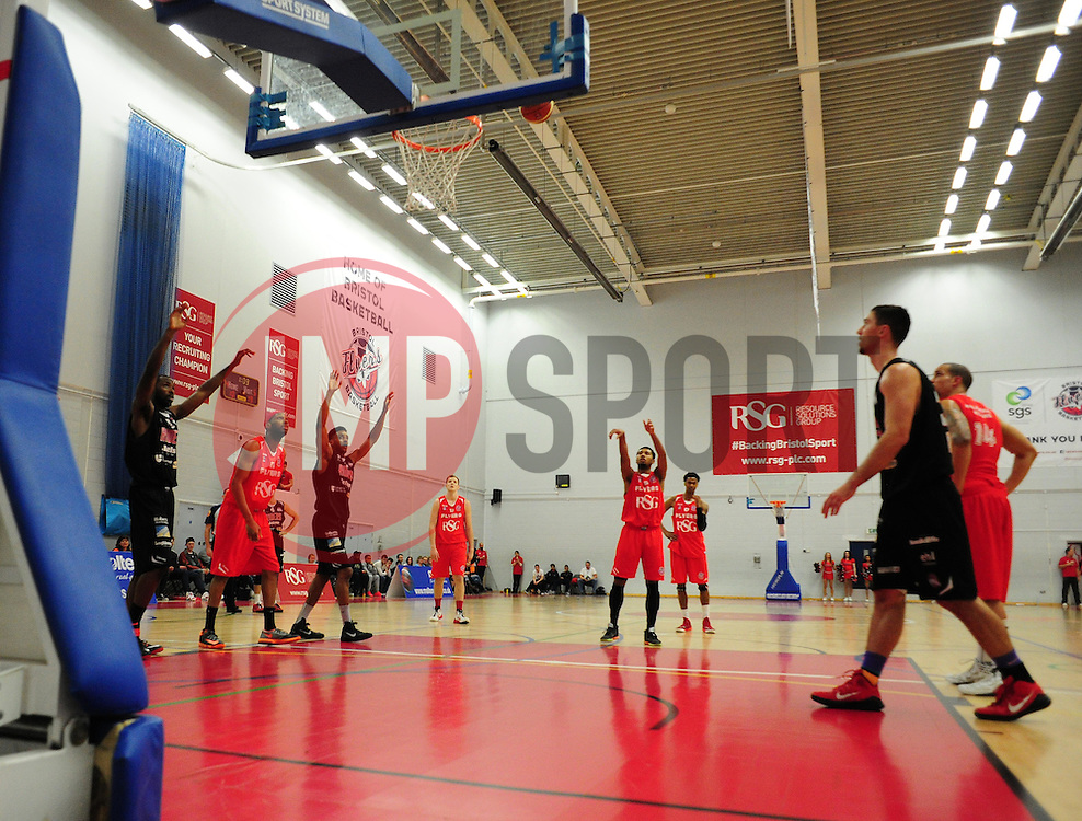 - Photo mandatory by-line: Alex James/JMP - Mobile: 07966 386802 - 13/03/2015 - SPORT - Basketball - Bristol - SGS Wise Campus - Bristol Flyers v Leicester Riders - British Basketball League