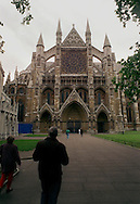 Westminster Abbey is shown on May 15, 1997, in London, England. Westminster Abbey, the Collegiate Church of St. Peter in Westminster, is the most famous church in the English speaking world, and one of the  world's great religious temples.  (photo by William Thomas Cain) NEWSMAKERS WILLIAM THOMAS CAIN 5/15/97