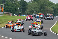 #37 Mike AIKENS Caterham CSR  during CSCC Gold Arts Magnificent Sevens  as part of the CSCC Oulton Park Cheshire Challenge Race Meeting at Oulton Park, Little Budworth, Cheshire, United Kingdom. June 02 2018. World Copyright Peter Taylor/PSP.