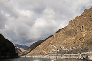 The Snake River flows through Hells Canyon National Recreation Area.