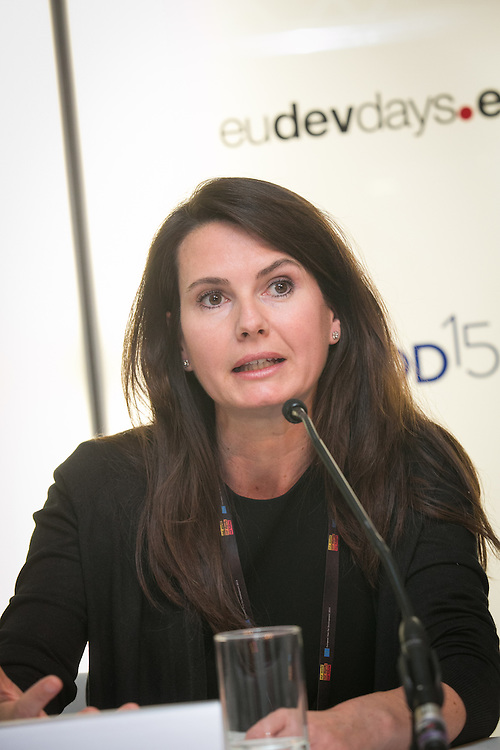 03 June 2015 - Belgium - Brussels - European Development Days - EDD - Migration - Migrants matter for development - New actors and energies in a new development agenda - Cecile Riallant<br /> Programme Manager, Joint Migration and Development Initiative &copy; European Union