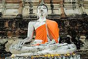 Wat Yai Chai-Mongkol. Ayuthaya.