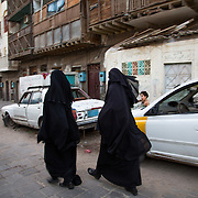 A typical neighbourhood in Aden, one that for a while was under Houthi control
