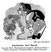 The Astonished Heart ; Margaret Leighton , Celia Johnson and Noel Coward