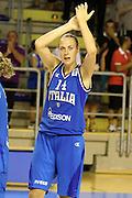 Taranto 08-06-2011<br /> Qualifying Tournament Eurobasket Women 2011<br /> Italia-Romania<br /> Nella foto Kathrin Ress<br /> Foto di Ciamillo-Castoria