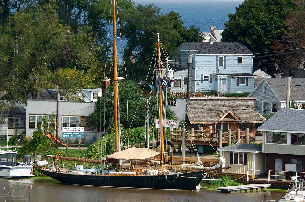 Harbor,Lake Ontario, Olcott Beach, new York, United States of America