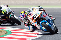 Fabio Quartararo of France and Pons HP40 during the race of  Moto2 of Catalunya at Circuit de Catalunya on June 11, 2017 in Montmelo, Spain.(ALTERPHOTOS/Rodrigo Jimenez)