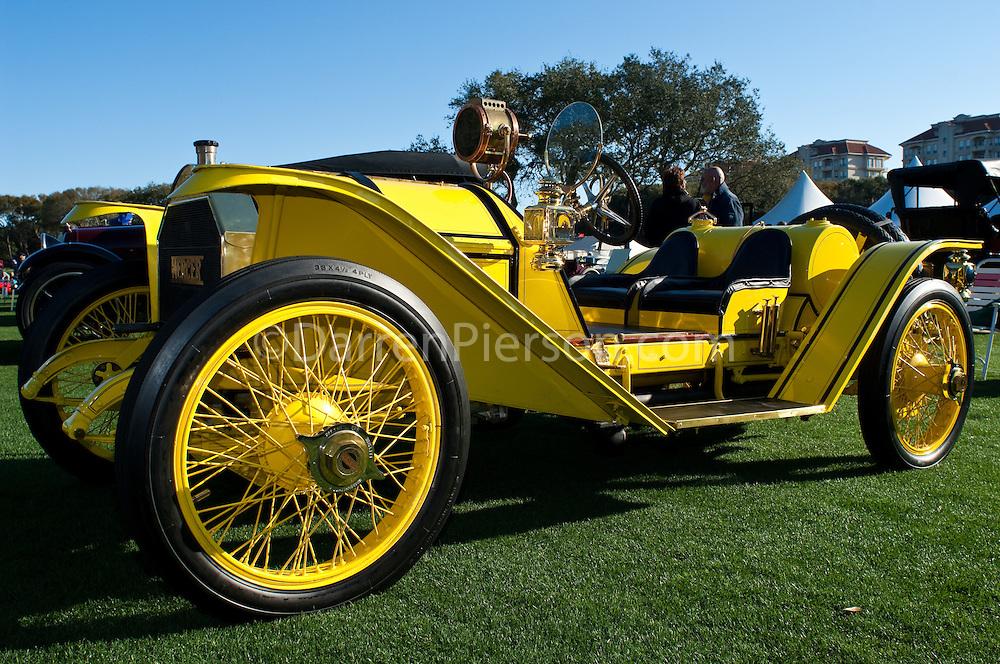 1912 Mercer 35C Raceabout: Jack Miller, Drena Miller