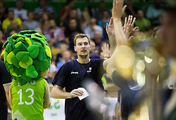Zoran Dragic of Slovenia during friendly basketball match between National teams of Slovenia and Australia, on August 3, 2015 in Arena Tri lilije, Lasko, Slovenia. Photo by Vid Ponikvar / Sportida