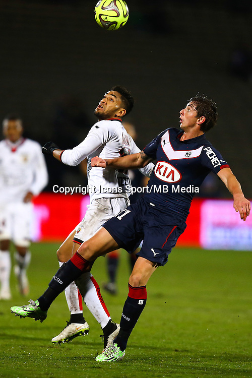Jordan Amavi / Emiliano Sala - 16.01.2015 - Bordeaux / Nice - 21e journee Ligue 1<br />