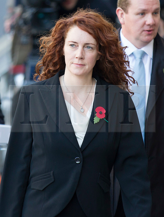 ** File pics - Rebekah Brooks return to News UK** © Licensed to London News Pictures. 30/10/2013. London, UK. Rebekah Brooks, former editor of the News of the World, arrives at the Old Bailey in London today (30/10/2013) where she faces charges related to phone hacking during their time at the paper. Photo credit: Matt Cetti-Roberts/LNP