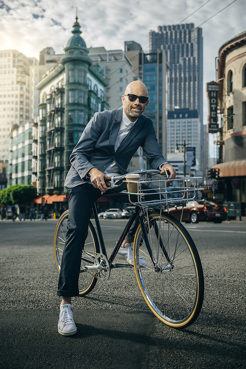 Vaughn Brown, founder of Parker Dusseau apparel, San Francisco, CA | Bicycling Magazine