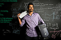 Shion Deysarkar, founder of custom data search company Datafiniti, who says he is moving his company to Austin because he could not find enough talented programmers in Houston, May 6, 2013 in Houston.<br /> <br /> (Eric Kayne/For the Chronicle)