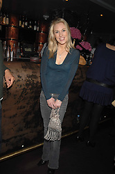 IMOGEN LLOYD WEBBER at a party hosted by Kitts nightclub in honour of Ed Godrich to than him for his work on designing the club in Sloane Square, London on 1st March 2007.<br />