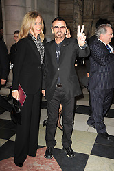 RINGO STARR and BARBARA BACH at the opening of the Victoria & Albert Museum's latest exhibition 'Grace Kelly: Style Icon' opened by His Serene Highness Prince Albert of Monaco at the V&A on 15th April 2010.