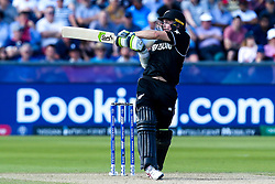 Tom Latham of New Zealand batting - Mandatory by-line: Robbie Stephenson/JMP - 03/07/2019 - CRICKET - Emirates Riverside - Chester-le-Street, England - England v New Zealand - ICC Cricket World Cup 2019 - Group Stage