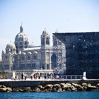 Marsiglia Capitale europea della cultura 2013<br /> il MUCEM, Museo delle civiltà d'Europa e del Mediterraneo firmato dall'architetto Rudy Ricciotti<br /> <br /> Marsigla MUCEM, Musée des Civilisations de l'Europe et de laMéditerranée.