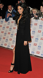 Nicole Scherzinger arrives At The annual National Television Awards 2013, The O2 Arena, Greenwich, London, UK, January 28, 2013. Photo by i-Images.