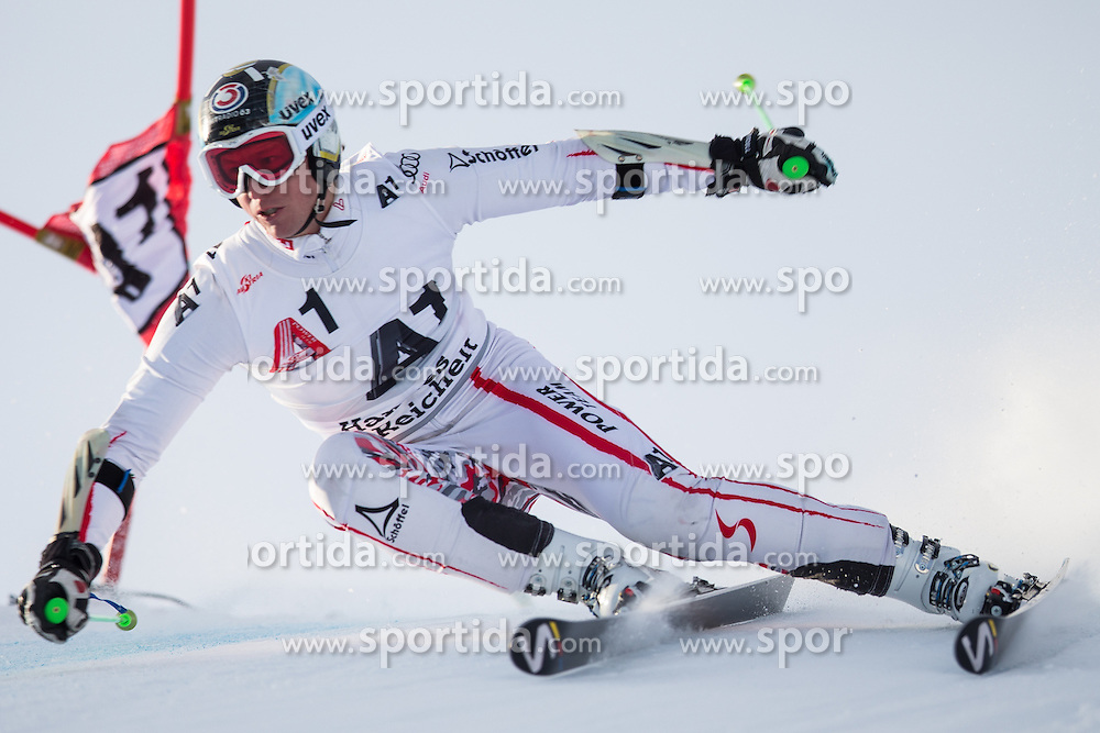 19.10.2012, Rettenbachferner, Soelden, AUT, OeSV, interne Qualifikationslauefe, im Bild Hannes Reichelt (AUT) // Hannes Reichelt of Austria during Qualifying of the Austrian Ski Team 'OeSV' at Rettenbachferner in Soelden, Austria on 2012/10/19. EXPA Pictures © 2012, PhotoCredit: EXPA/ J. Groder